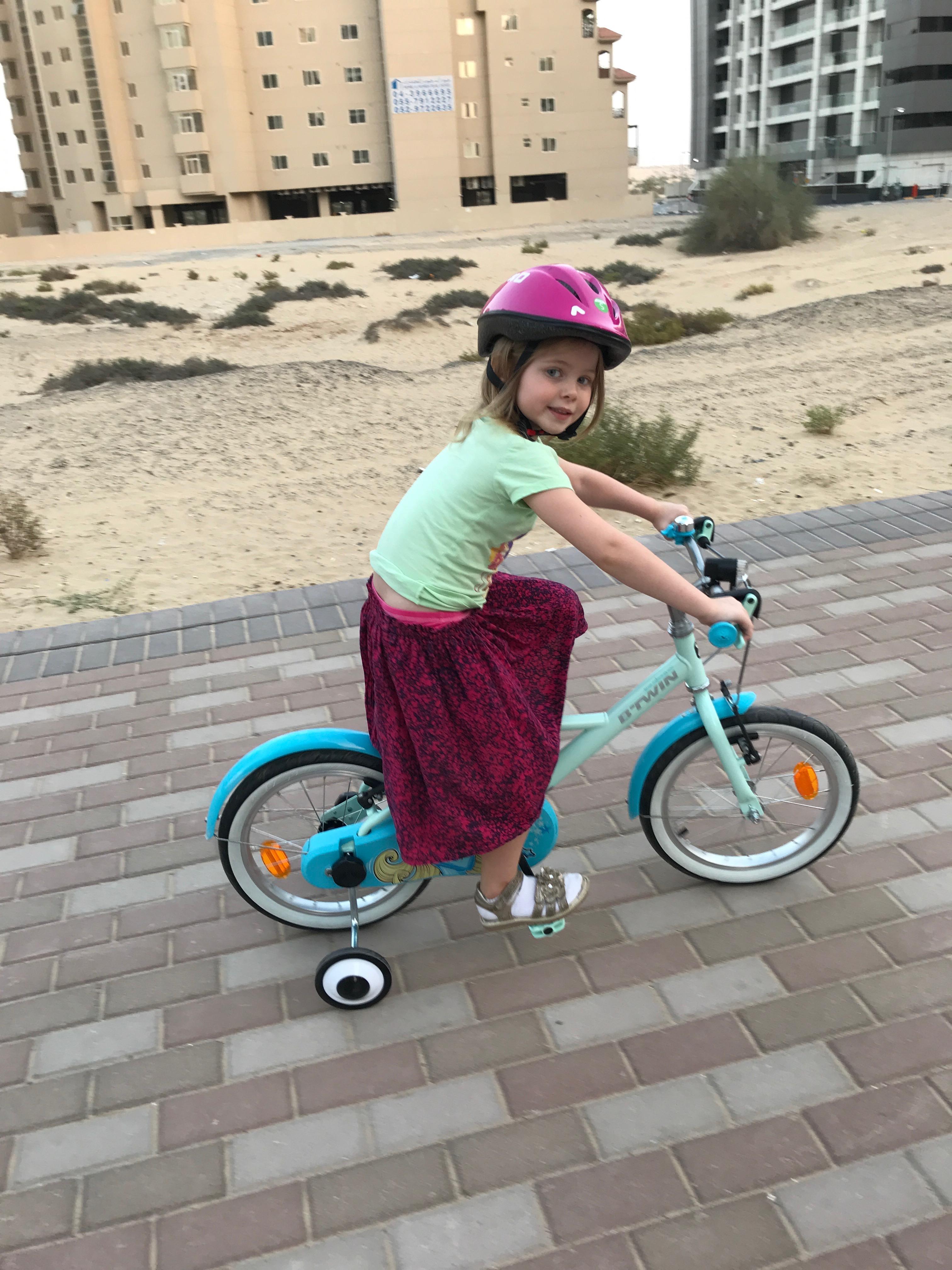 fødselsdag og cykel